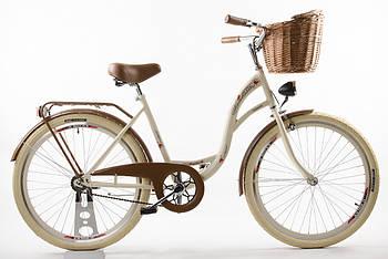 Велосипед VANESSA Vintage 26 crem