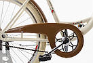Велосипед VANESSA Vintage 26 crem, фото 5