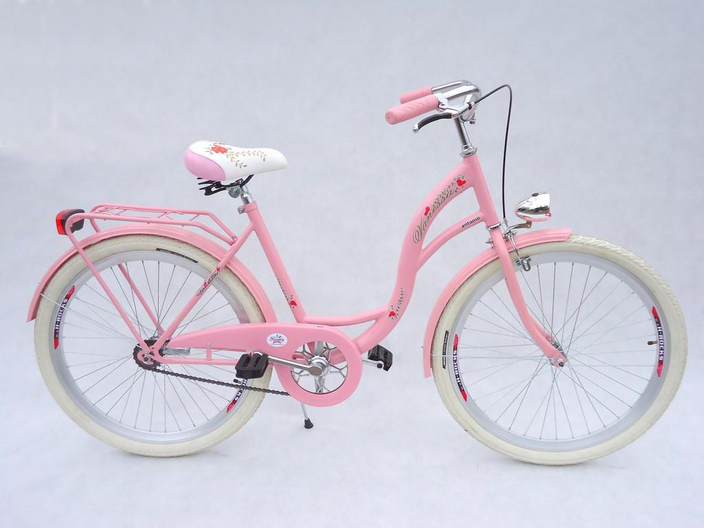Велосипед VANESSA Vintage 26 pink Польша