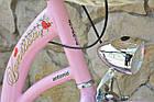 Велосипед VANESSA Vintage 26 pink Польша, фото 3