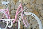 Велосипед VANESSA Vintage 26 pink Польша, фото 4