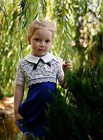 Платьеце с гипюром