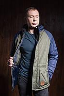 Куртка мужская молодёжная комбинированая