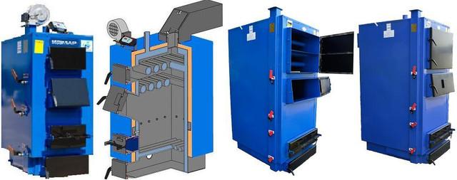 Твердотопливные котлы Идмар модель ЖК-1 (10-120 кВт)