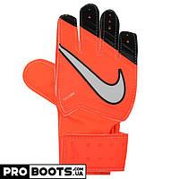 Детские вратарские перчатки Nike GK JR Match Solar Red