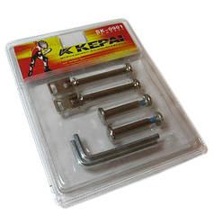 Набор втулок для раздвижных роликов KEPAI SK-0901