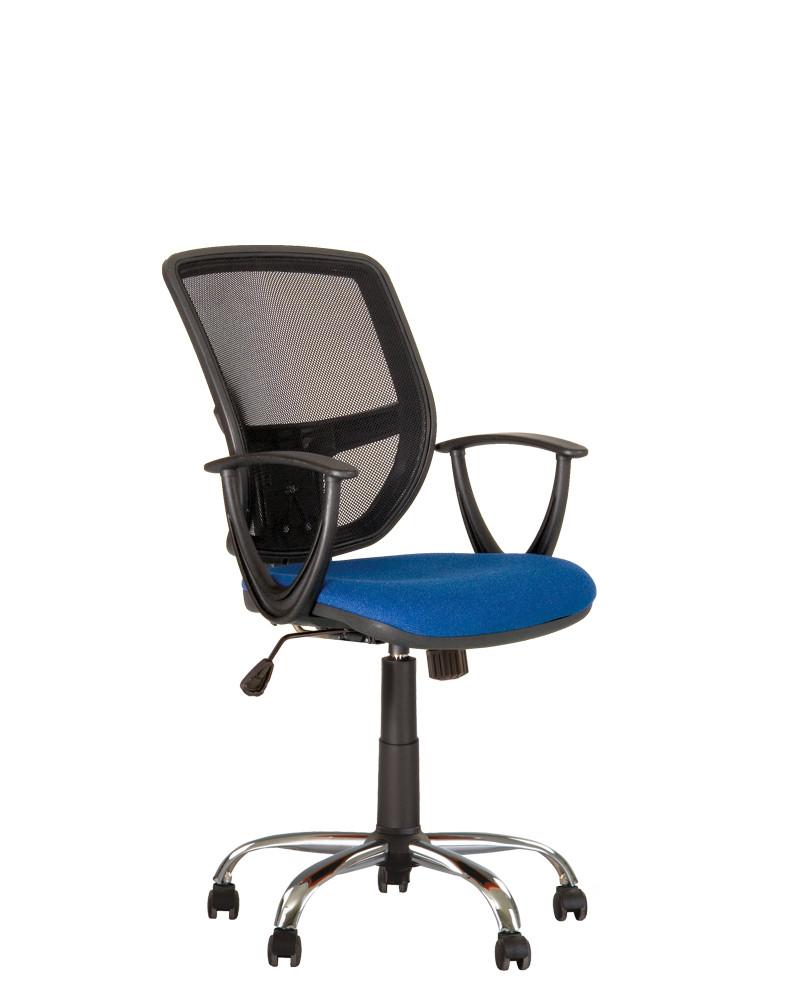 Кресло офисное Betta GTP механизм FS крестовина CHR68 спинка сетка OH-5, сиденье ткань С-06 (Новый Стиль ТМ)