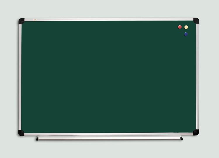 Доска для мела алюминевая рама S-line 90х120см