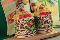 Набор для специй керамический Домик