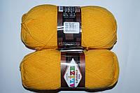 Alize Lanagold fine - 216 желтый