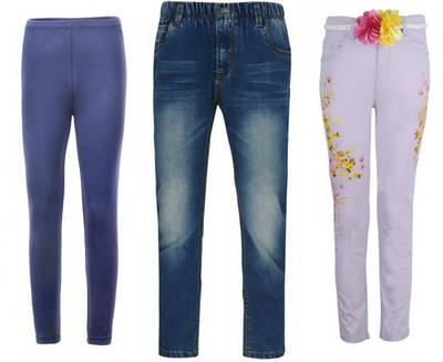 Брюки, джинсы, лосины детские