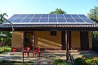 Сонячна мережева електростанція 10кВт смт Бурштин!