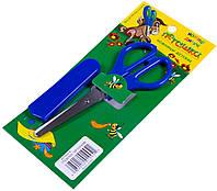 Ножницы ПЕГАШКА (130mm) с защитным чехлом, в индивидуальной упаковке