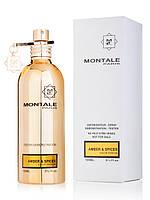 Парфюмированная вода - Тестер Montale Amber&Spices