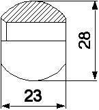 Натяжная резиновая трубка Claas