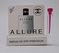 Масляные духи с феромонами Chanel Allure Homme Sport 5 ml
