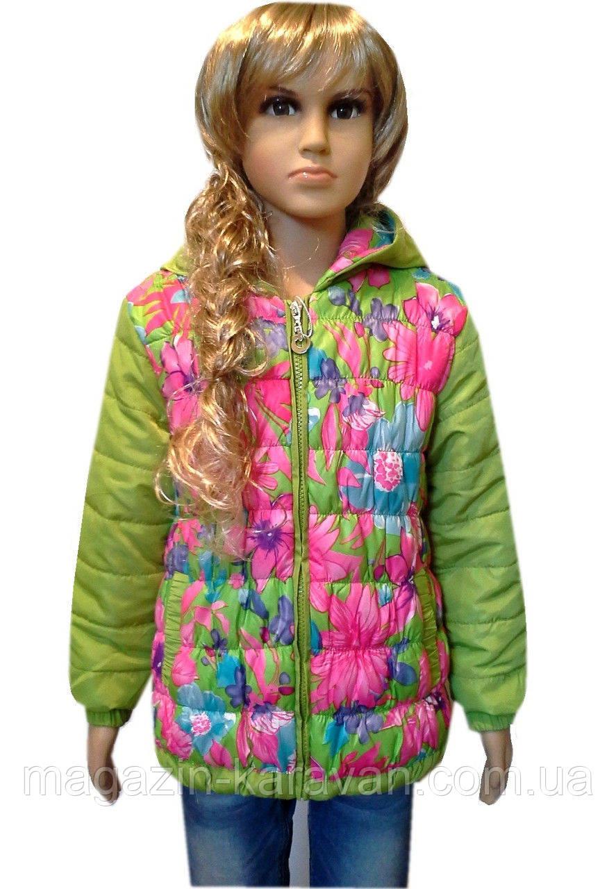 Куртка демисезонная практичная для девочки