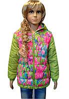 Куртка демисезонная практичная для девочки , фото 1