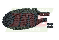 Приводная роликовая цепь шнека жатки комбайна Claas - 94 звена