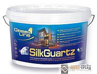 TM Green Line SilkGuartz - грунт-краска на силиконовой основе (СилкКварц )10 л.