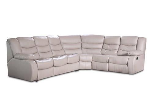 Кожаный угловой диван REGAN (320см-200см)