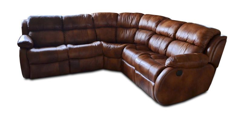 """Угловой диван с реклайнером """"REGLAINER"""" (310см-200см)"""