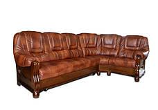 New! Кожаный угловой диван ROMA , фото 3