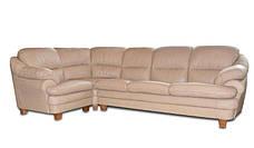 Мягкий угловой диван в коже SARA, фото 3