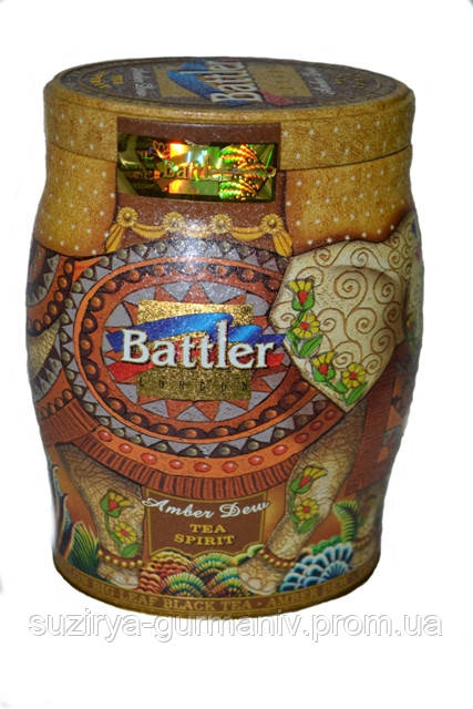 Чёрный чай Battler tea Amber Dew 100гр. Ж/Б, фото 1