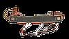 Кожаный патронташ с металлическими клёпками