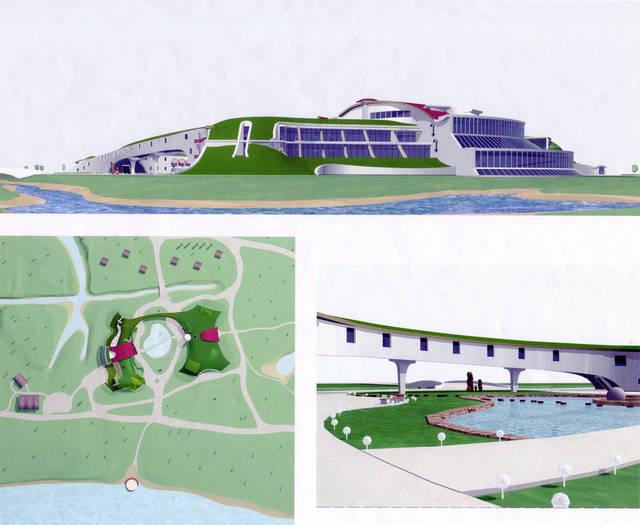 Ландшафтный комплекс гольфклуба в  Кончезаспе