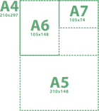 Тетрадь А plus на спирали  A5 клетка, фото 2