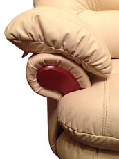 Кожаный угловой диван Орландо, не раскладной диван, мягкий диван, мебель из кожи, фото 3