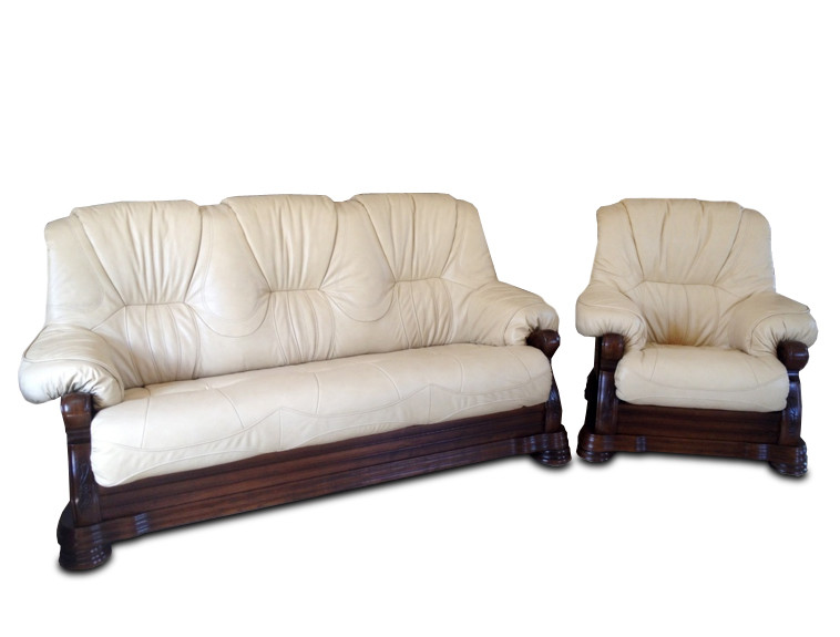 """Класична шкіряні меблі """"Віконт 5030"""" (3н + 1)"""