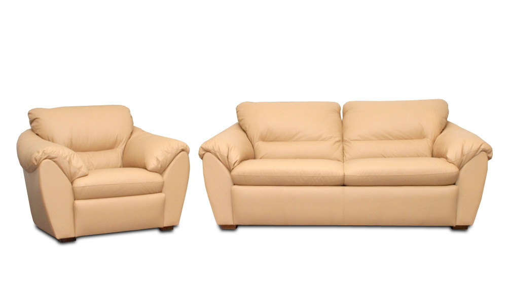 """Стильный комплект мебели для гостиной """"Элегия"""" (3р+1)"""
