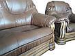 Классическая кожаная мебель Grizzly Hup (3р+1), фото 5