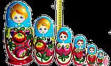 Украинская матрёшка расписная (7 ка), фото 4