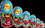 Украинская матрёшка расписная (7 ка), фото 6