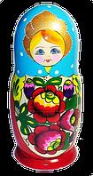 Украинская матрёшка расписная (7 ка)