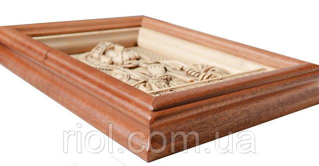 икона деревянная святой владимир