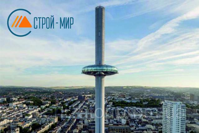 Открылась самая тонкая башня в мире