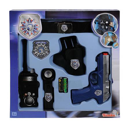"""Игровой набор «Simba» (8102667) набор """"Полицейский патруль"""", 6 предметов, фото 2"""