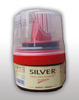 Крем для обуви Silver