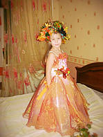 Шикарный костюм Осень, золотая осень прокат, фото 1