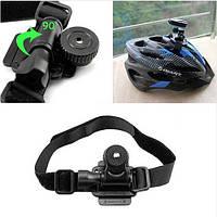Поворотное крепление на шлем видеокамер типа GoPro и аналогов