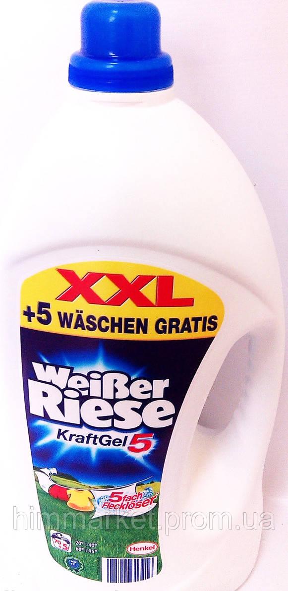Гель для стирки Weiber Riese 5,48 литра