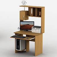 Компьютерный стол с тумбочка, Тиса-25, 90*65, бук светлый
