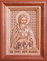 Икона деревянная резная Святого Мученика Вадима Персидского