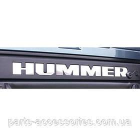 Hummer H2 2003-2009 задние хромовые буквы надпись новая