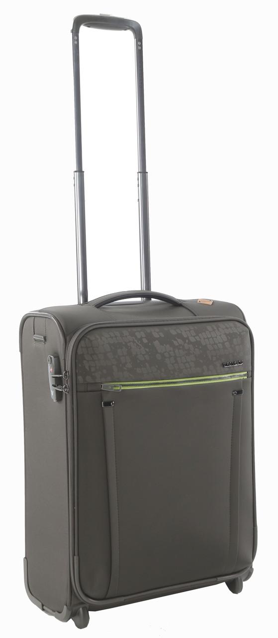 2-колесный малый чемодан тканевый 40 л. Roncato Zero Gravity DLX 4453/57 зеленый